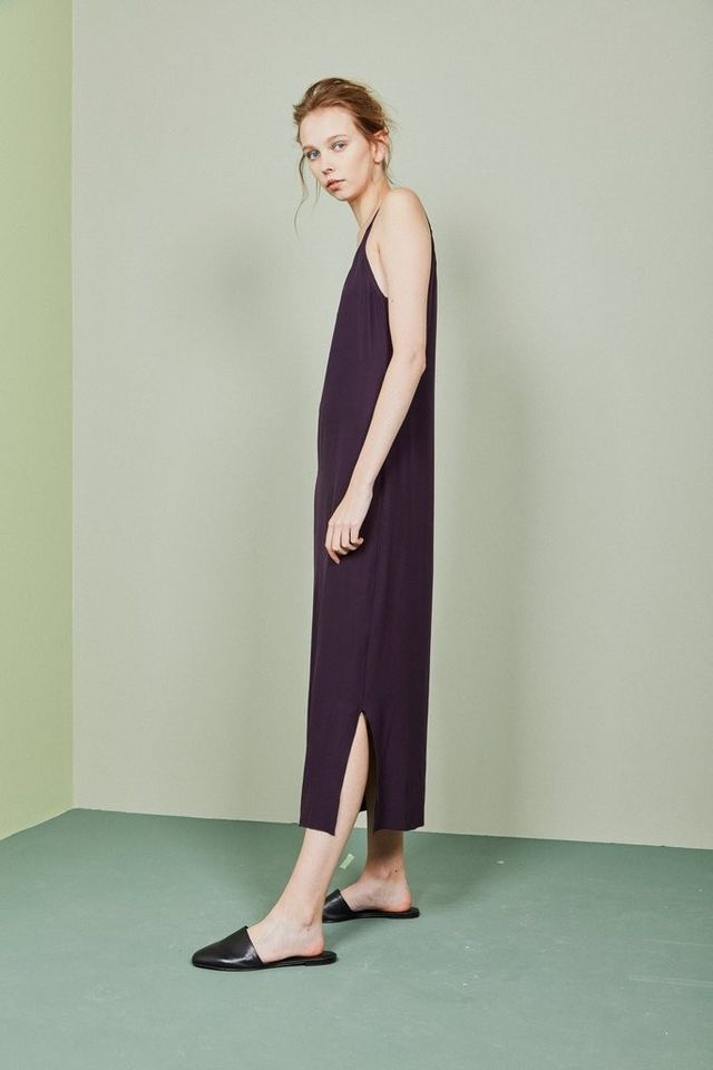 The Mercantile Vintage Plum Slip