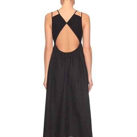 Cutout-Back Dress