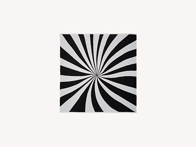 Lisa Perry Spiral Optic Throw