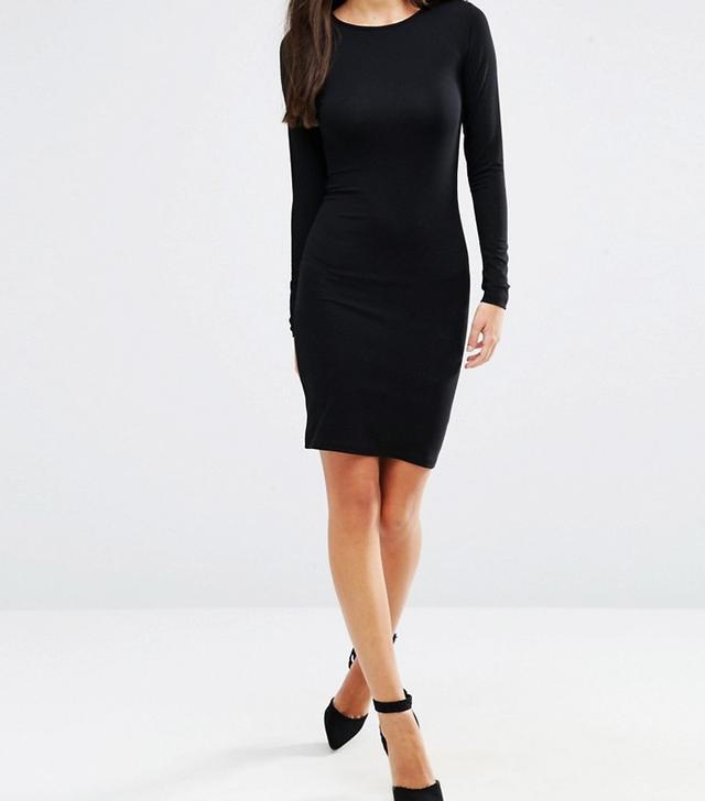 ASOS Long Sleeve Bodycon Mini Dress