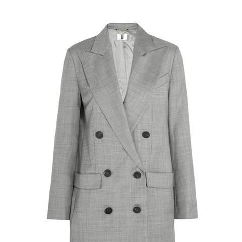 Wycliffe Double-Breasted Wool-Twill Blazer
