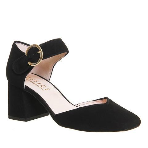 Fancy Square-Toe Heels