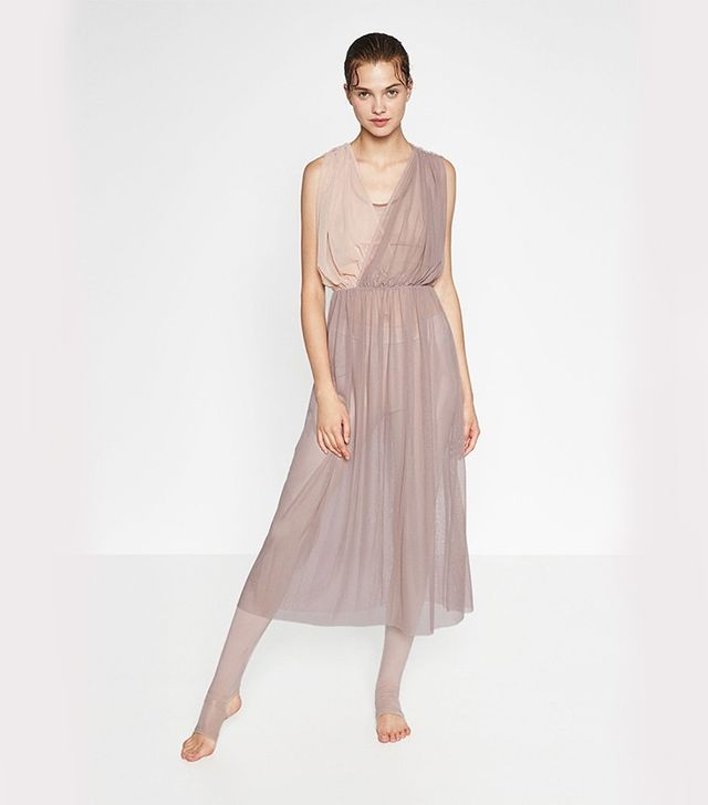 Zara Contrast Tulle Dress