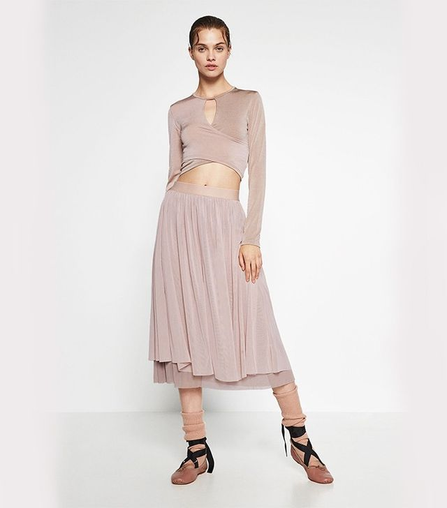 Zara Crossover Cropped Top