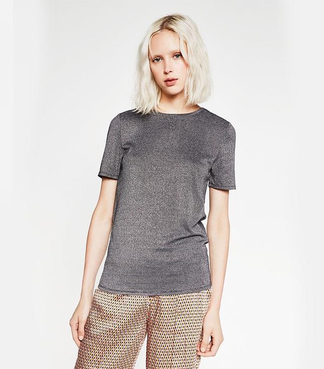 Zara Shiny T-Shirt