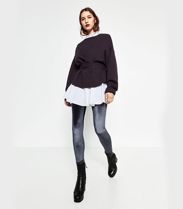 Zara Velvet Leggings