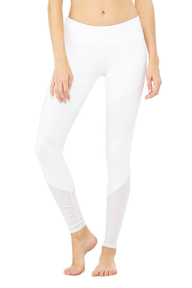 Alo Sheila Leggings in White