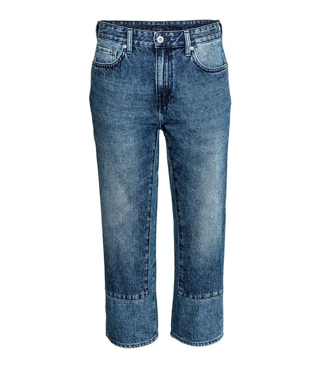 H&M Regular Low Cropped Jeans