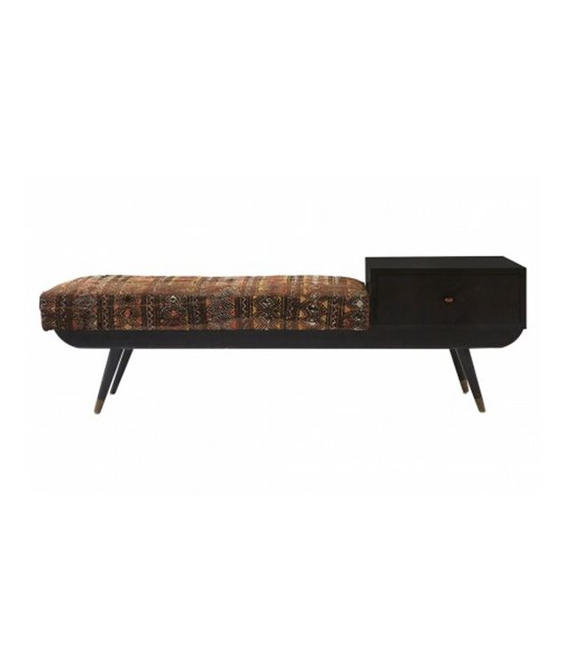 Jayson Home Vintage Mid Century Bench