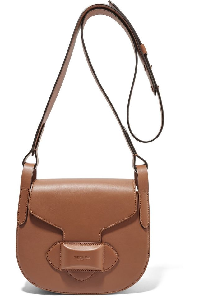 Michael Kors Collection Daria Small Leather Shoulder Bag