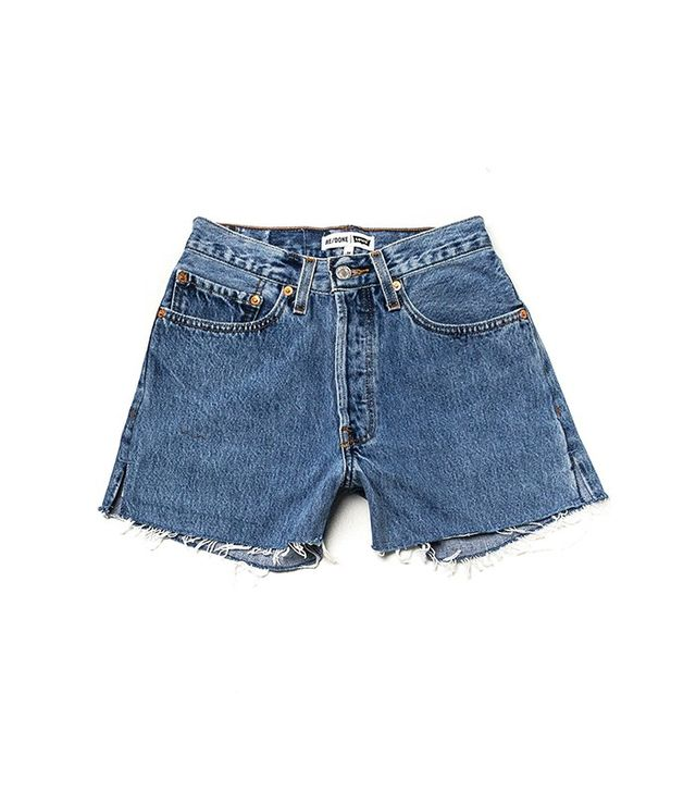 Re/Done   Levi's The High Rise Short