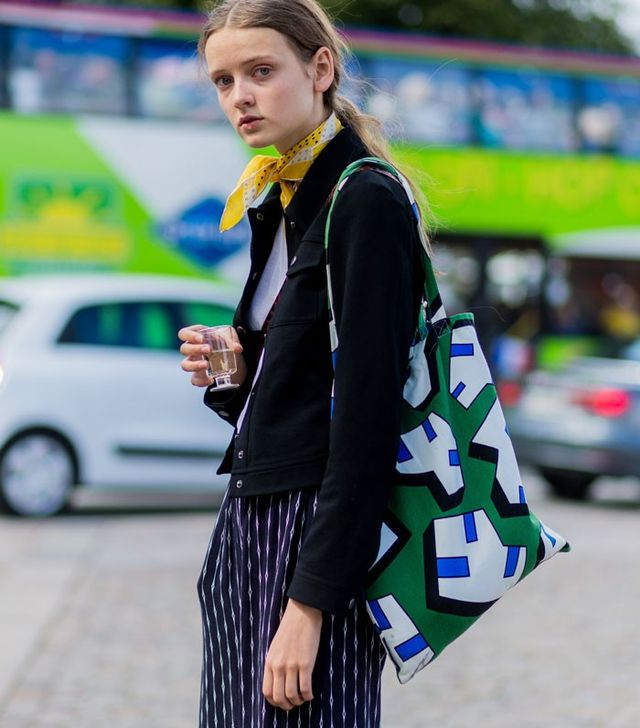 Try a Tote Bag in a Punchy Print