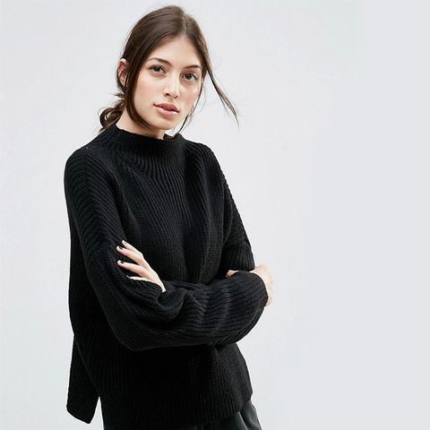 Ultimate Chunky Sweater With High Neck