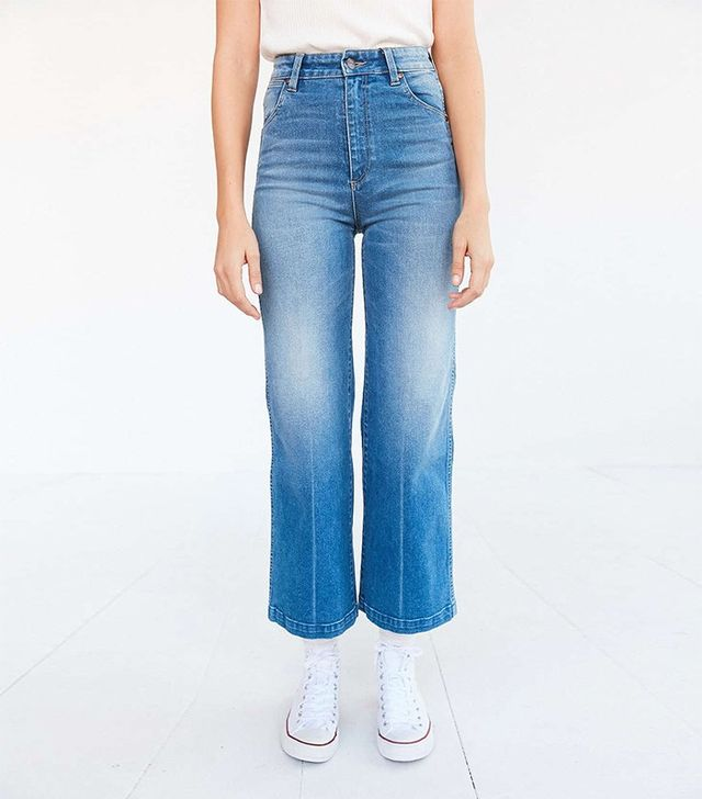 Wrangler Marfa High-Rise Cropped Flare Jean