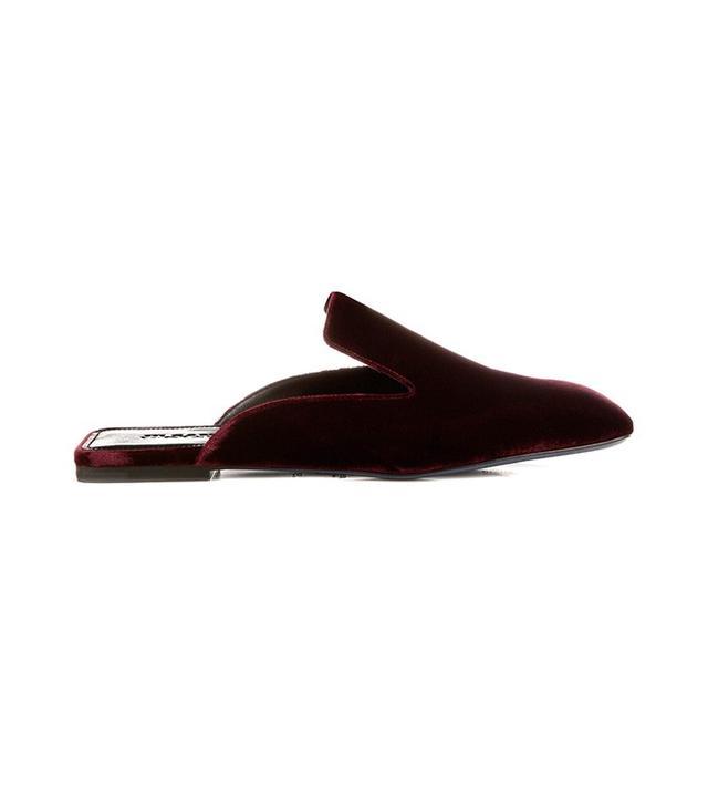 Jil Sander Velvet Slipper Shoes