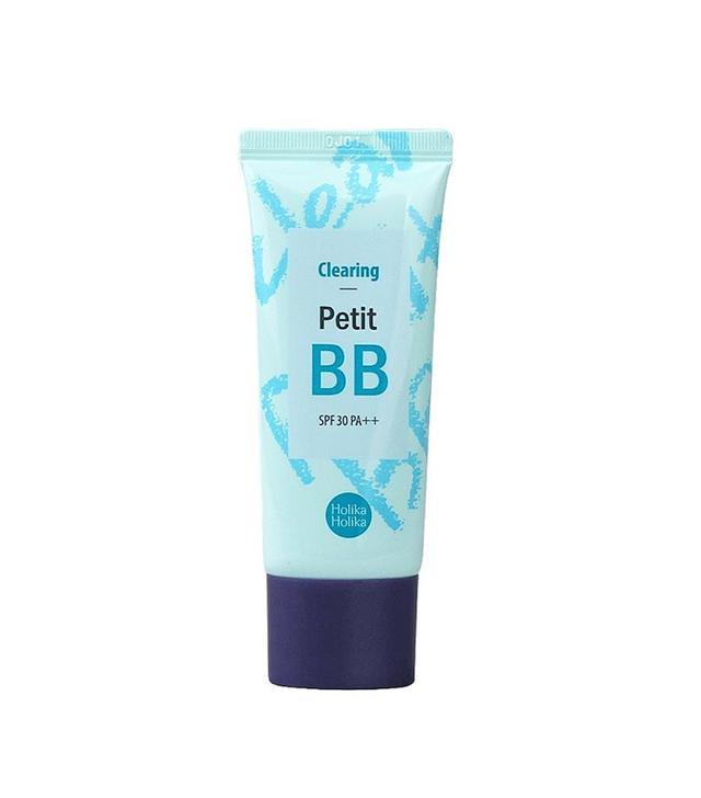 Holika Pore Clearing Petit BB Cream With Tea Tree Oil and Sebum Control Powder