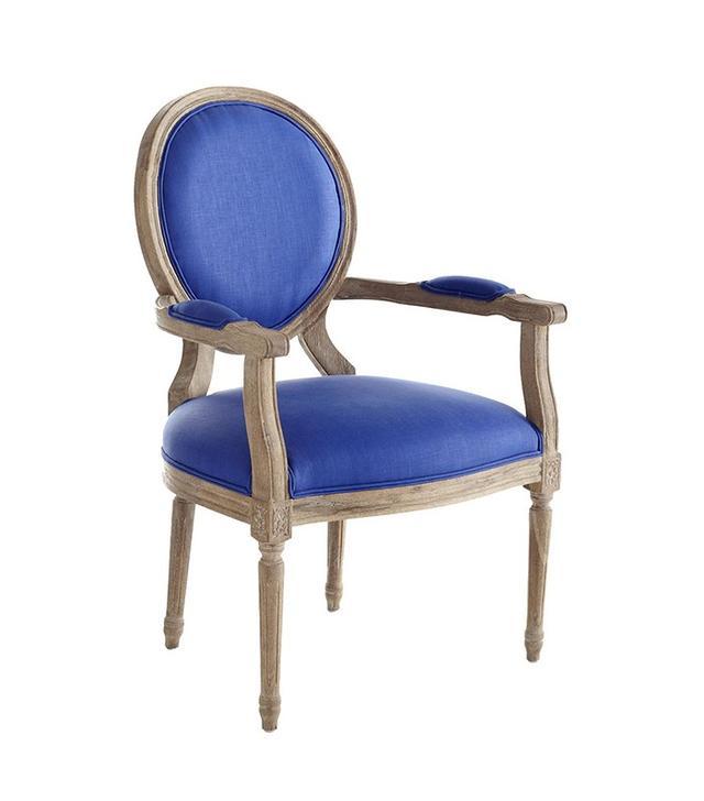 Wisteria Louis XVI End Chair
