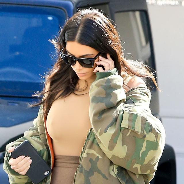 Kim Kardashian's Latest Accessory Proves Everyone Loves a DIY
