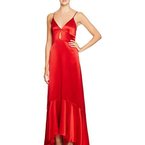Silk High/Low Gown