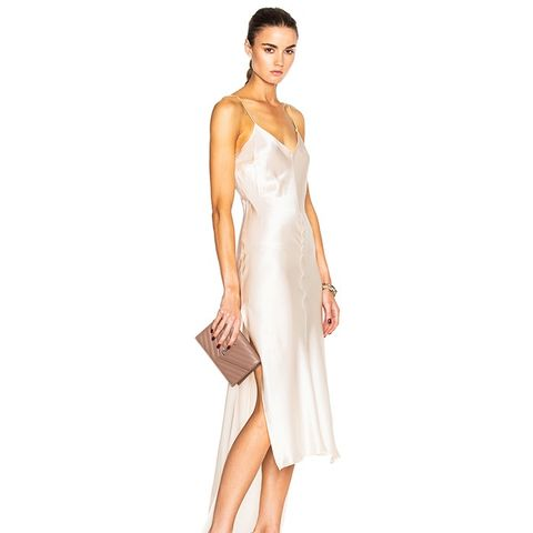 Flora Charmeuse Slip Dress