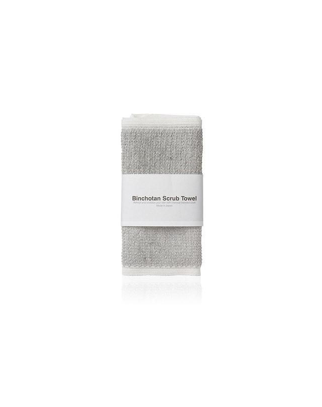 Morihata Binchotan Body Scrub Towel