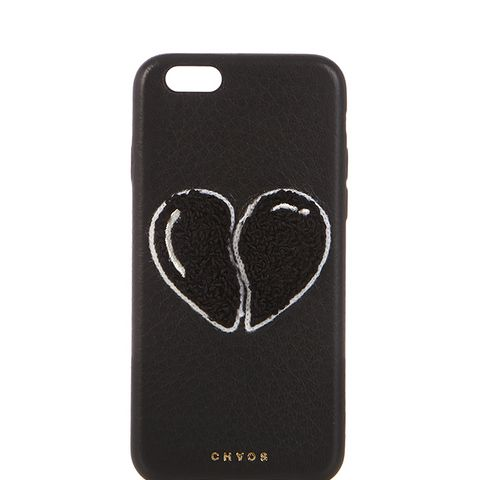 Heart Leather iPhone 6 Case
