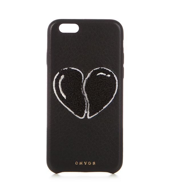 Heart leather iPhone® 6 case