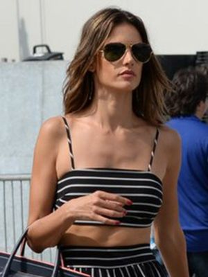 Alessandra Ambrosio Has Been Wearing These Classic Heels Every Day