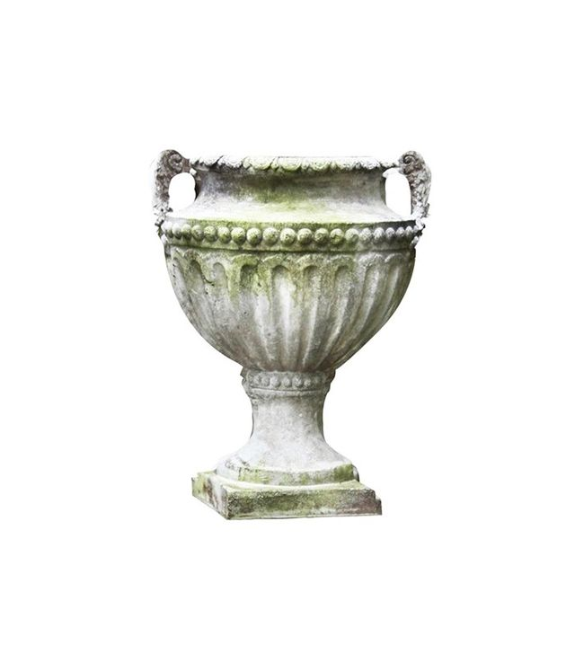 Orlandi Statuary Fluted and Beaded Urn