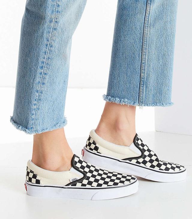 Vans Checkered Slip-On Sneakers