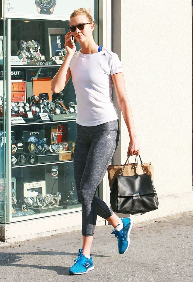 6 Items You'll Never Spot on a Stylish Celeb at the Gym