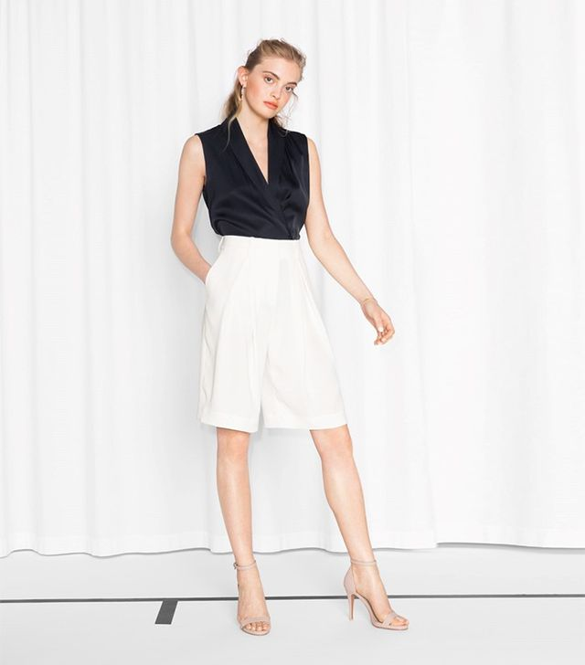 & Other Stories Dressed Loose Fit Trousers