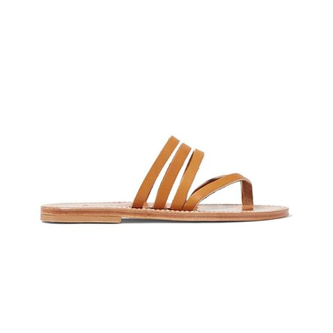 Sycomore Leather Sandals
