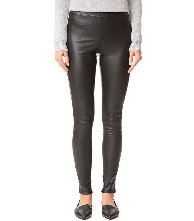 Theory Adbelle Leather Pants