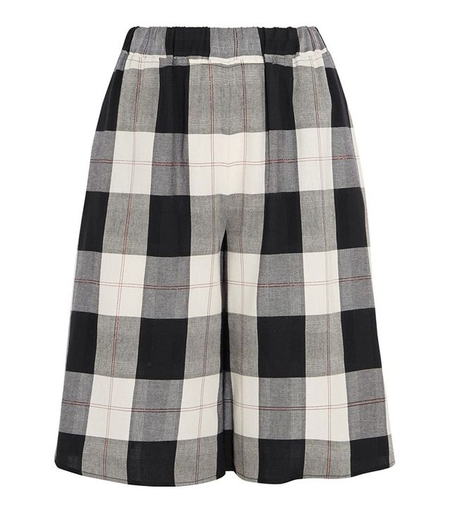 MM6 Maison Margiela Plaid Twill Culottes