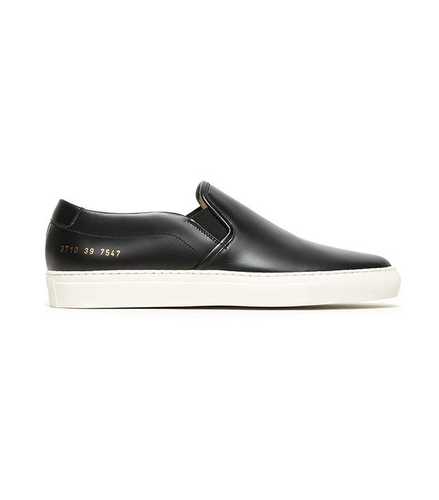 Woman by Common Projects Slip-on Sneakers in Leather
