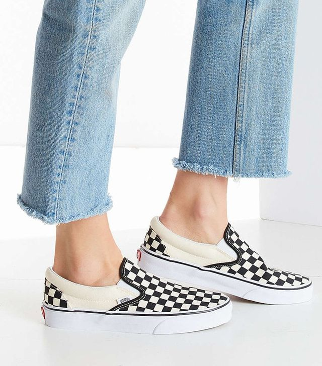 Vans Checkered Slip-On Sneakers