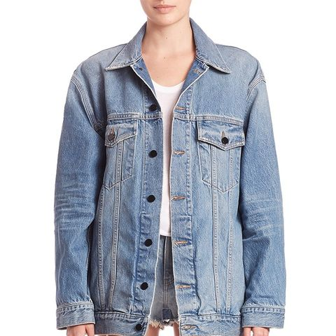 Denim x Alexander Wang Daze Oversized Boyfriend Jacket