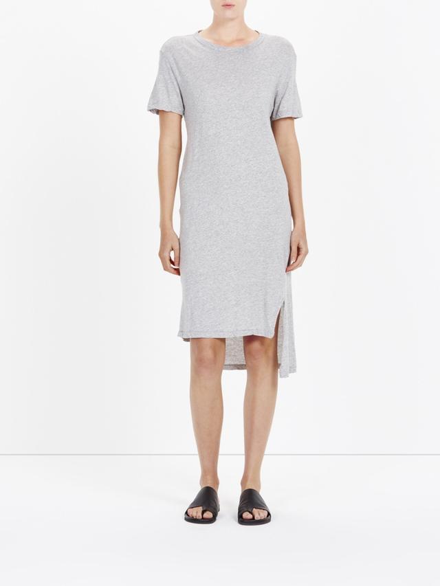 Bassike Side Split T-Shirt Dress