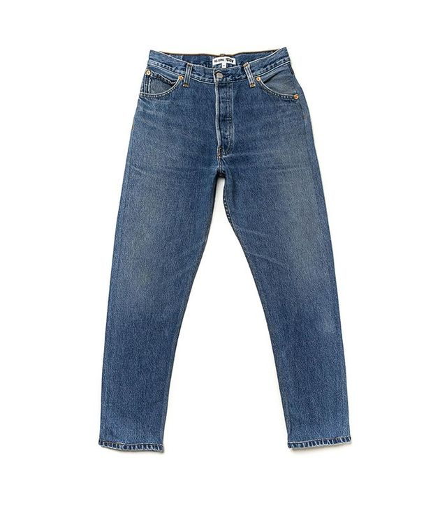 RE/DONE | Levi's The High Rise Ankle Crop Jeans