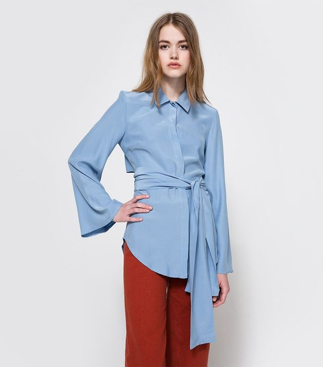 C/Meo Collective Fiction Silk Shirt