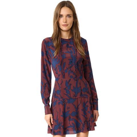 Floral Silk Odette Dress