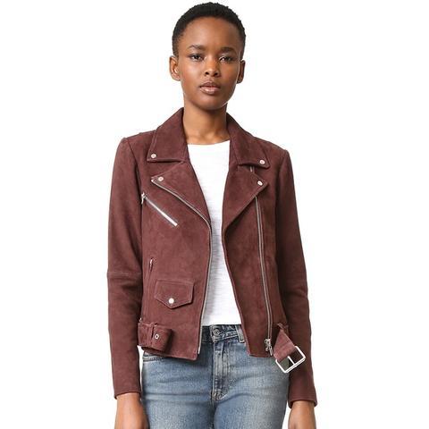 Jayne Suede Classic Jacket