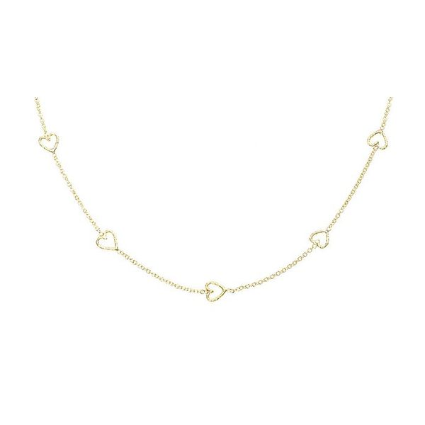 Phoebe Coleman Loop of Love Necklace