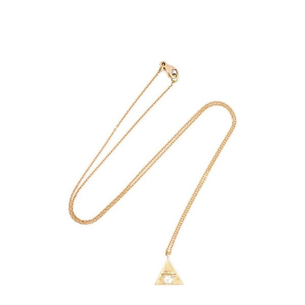 Brooke Gregson 18-Karat Gold Diamond Necklace