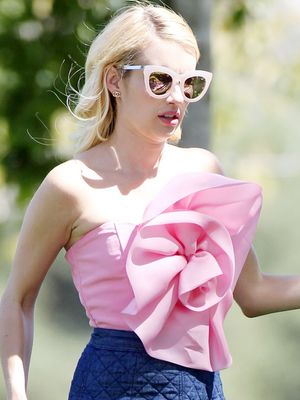 Scream Queens Fans Need to See Emma Roberts' Latest Outfit
