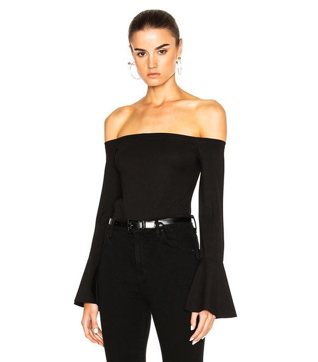 Alexis Lindes Top in Black