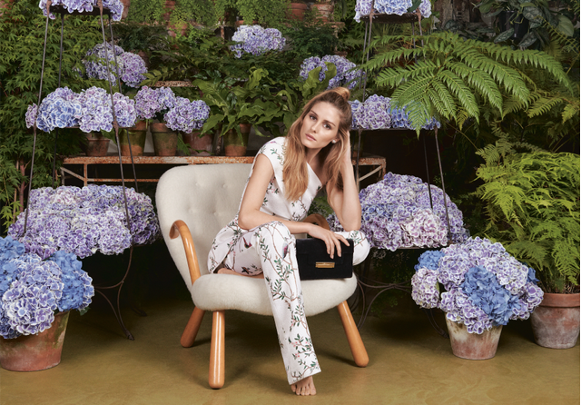 Olivia Palermo for Aerin