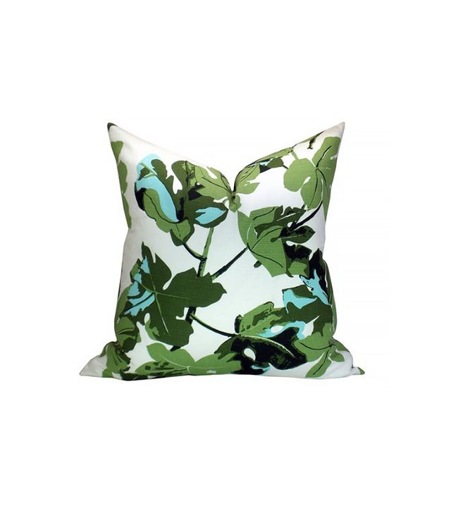 Peter Dunham Fig Leaf Pillow Cover