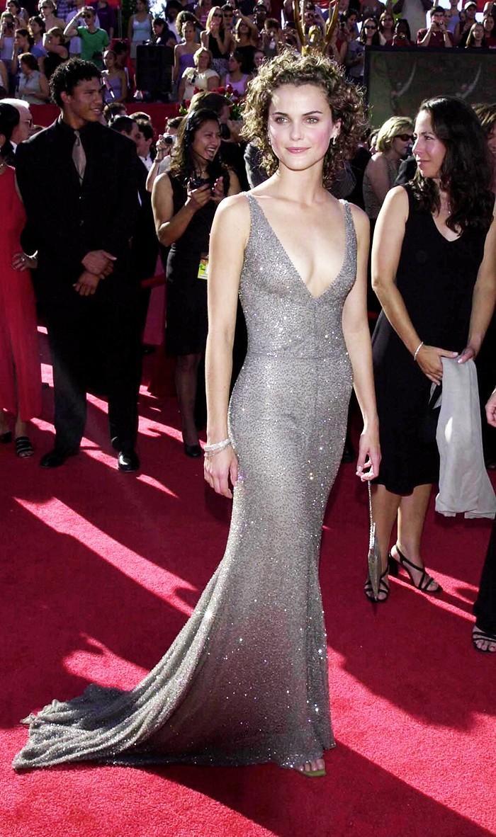 Kerri Russel Girogio Armani Emmys Dress